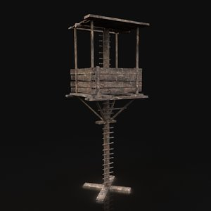 gen aaa fantasy wooden 3D