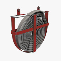 3D hose firehose model
