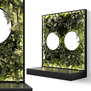 3D hanging mirrors