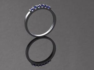 ring gems 3D model