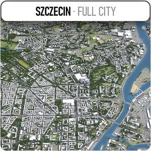 3D szczecin surrounding -