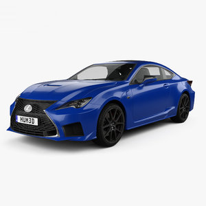 3D model lexus rc f