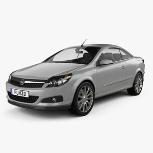 opel astra twintop 3D