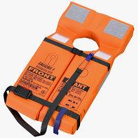 advanced folding life jacket model
