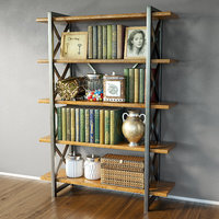3D shelves decor model