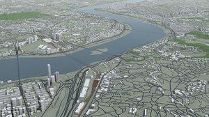 3D seoul city south korea