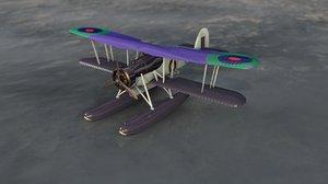 fairey swordfish aircraft 3D