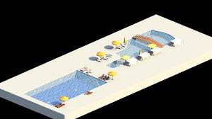 3D swim model