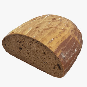 scan loaf bread 3D model