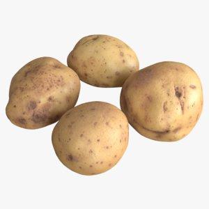 3D model maris potatoes