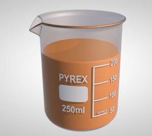 measure cup 3D model