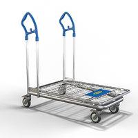 Ikea cart shopping