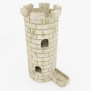 3D dice tower ii games