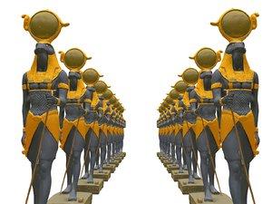3D egypt monument model