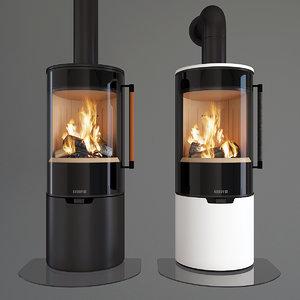 3D keddy fireplaces model