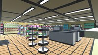 pack convenience store 3D model
