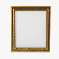 Baroque Picture Frame 22