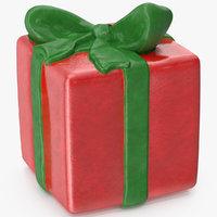 3D gift box figurine 4