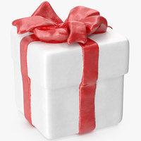 gift box figurine 5 3D model