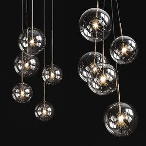 3D chandelier bolle solo model