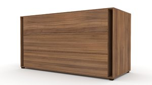 chest drawers 130x50x70 3D model