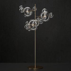 3D floor lamp bolle giopato model