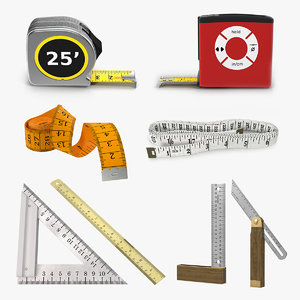 measure tools 5 3D model
