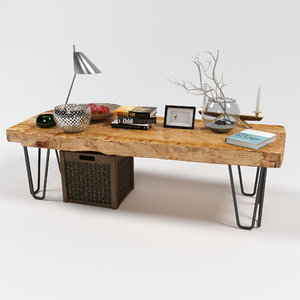 cofee table 3D