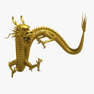 3D dragon chinese