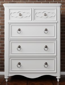 drawer chest 3D model