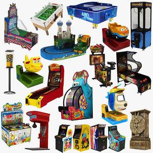 3D model arcade machine 20 1