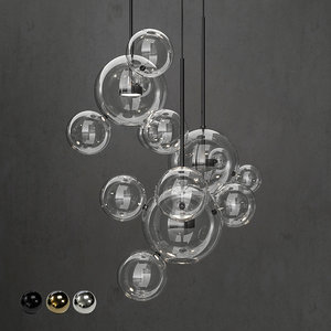3D giopato coombes chandelier bolle model