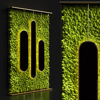 stabilized moss mirrors 3D model