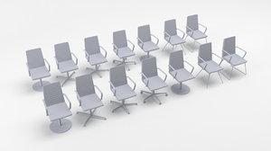 demo deberenn chair 3D model