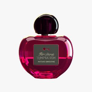 3D perfume antonio model