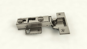 3D cabinet hinge