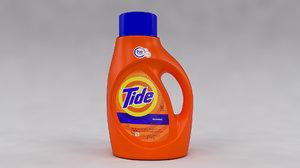 tide detergent bottle 3D model