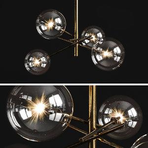 3D chandelier bolle