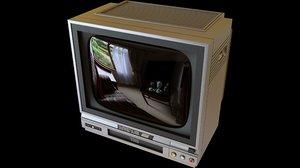 vintage 90 s combo 3D model