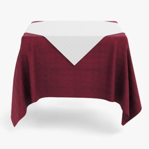 table cloth tablecloth model