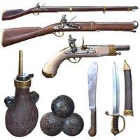 Flintlock Weapons Pack