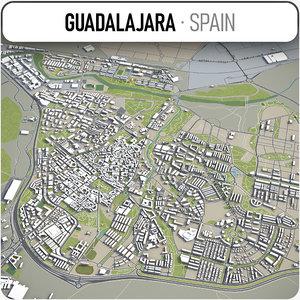 guadalajara surrounding - model