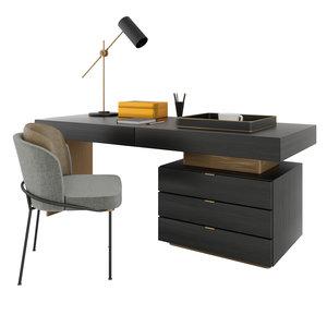 minotti carson desk model