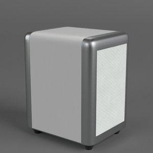 napkin dispenser 1 3D model