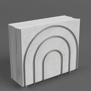 napkin holder 1 3D model