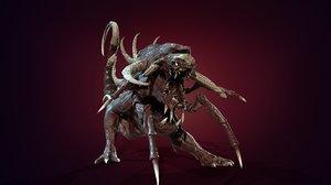 hell dog 3D model