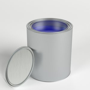 open paint lid 3D