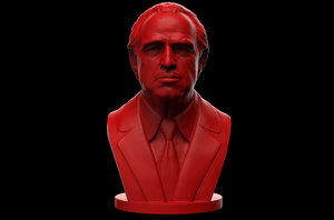 don vito corleone - 3D
