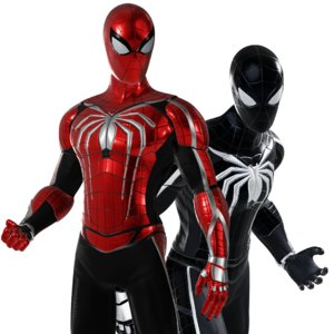 3D model spiderman character asset -