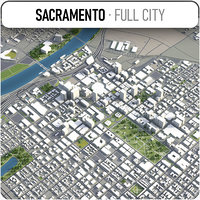 Sacramento - city and surrounding area